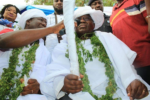 Akuffo Addo Becomes Togbe in Ketu North