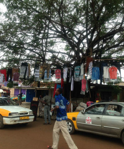 PHOTOS: Innovation? 'Boutique on Trees' Spring Up in Ashaiman