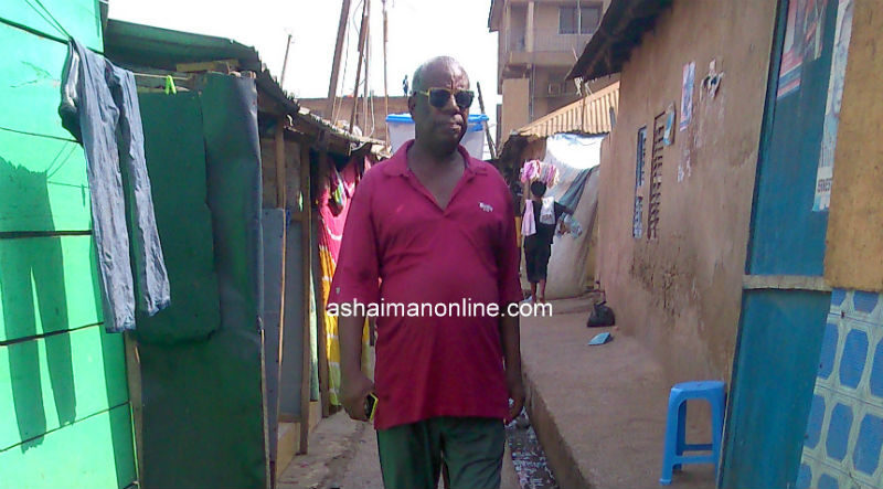 "Photos: Man Caught Hungry for Sex at Ashaiman's ""Two-Two Line"""