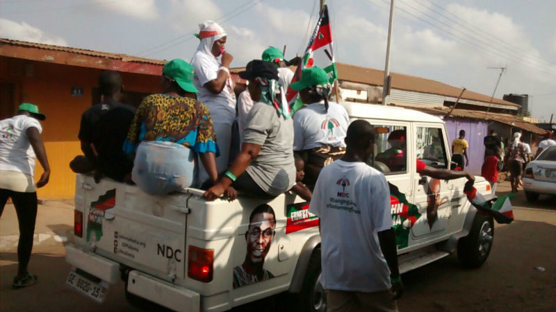 Photos: The NDC Parade Ashaiman for Votes