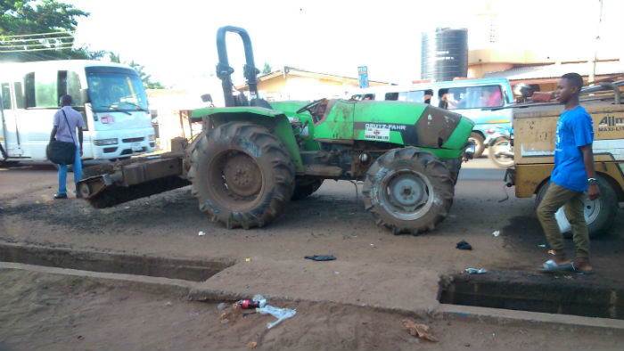 "Photos: ""Roads for Votes"" Almost Complete in Ashaiman"