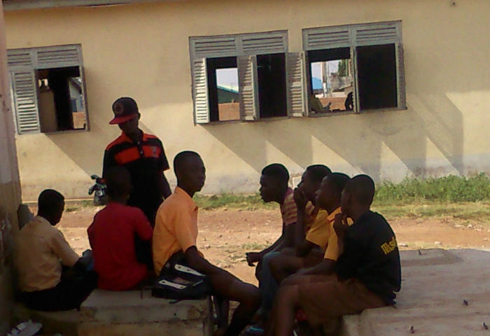 Ashaiman Zenu-Government School Students Avoid Classes