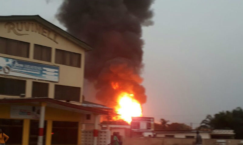 Photos: Bizarre Pictures From Accra Gas Explosion