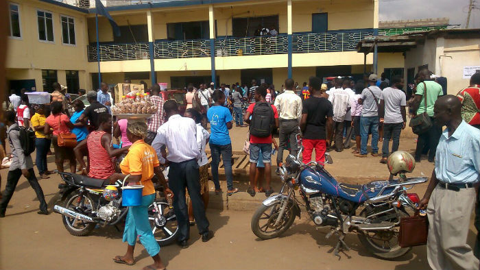 Photos: Special Voting in Ashaiman Turns into Confusion