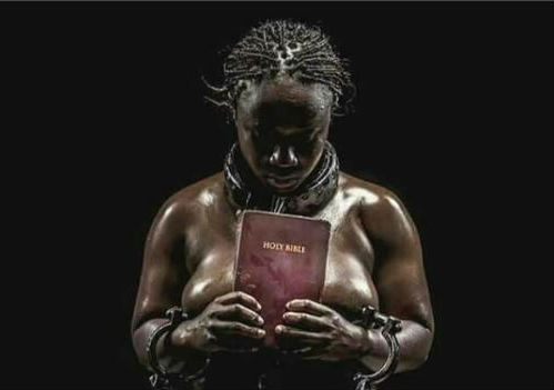 Photo: Naked Woman Holding Bible Getting People Talking