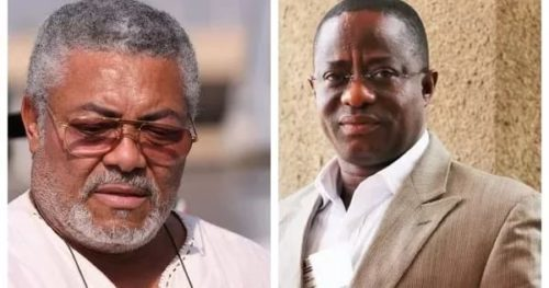 Angry Rawlings demands apology from NPP chairman