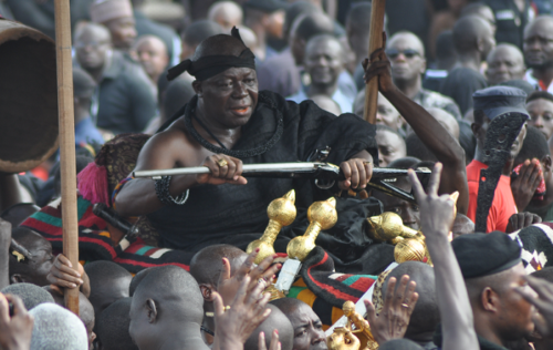 Photos: Asantehemaa's Funeral Portrays the Rich Asante Culture
