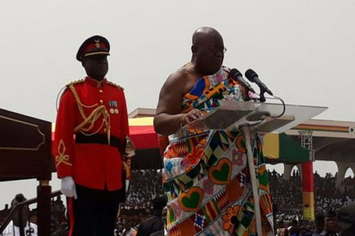 Government apologies for 'plagiarized' portions of Nana Addo's Speech