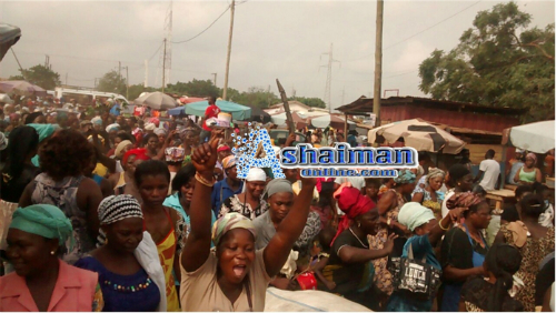 Photos: Ashaiman Market Women in Massive Demo