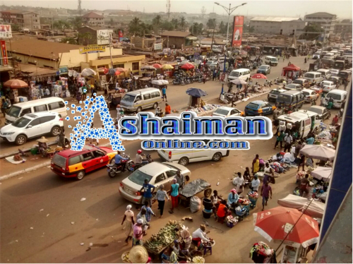 Ashaiman, the Emerging Central Business District in Ghana