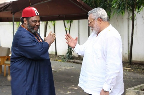 President Rawlings is my brother – Nollywood Actor Pete Edochie