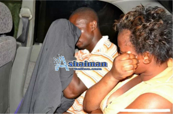 Taxi Driver Caught Pants Down with a Lady in His Taxi
