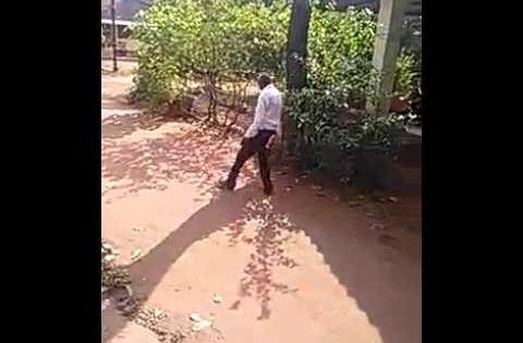 Video: Man under the influence of alcohol