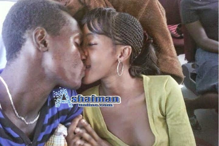Photos: Ashaiman Remedial Students Romance in School Bus