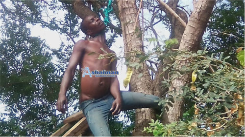 Video: Man, 35, Commits Suicide at Ashaiman