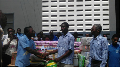 Ashaiman: Presby Central Y.P.G Donate To Akropong School For The Blind