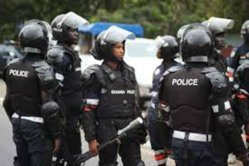 Photo: Riots In Wassa Akropong Over 'Killing' Of Ghanaian By Chinese