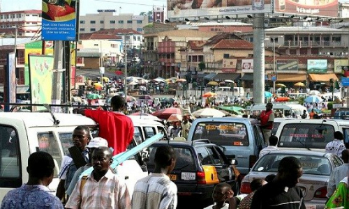 New Transport Fare Sparks Chaos in Ashaiman (Photos)