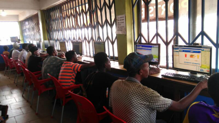 Ashaiman: Sports Betting Fever Grips Youth (Photos)