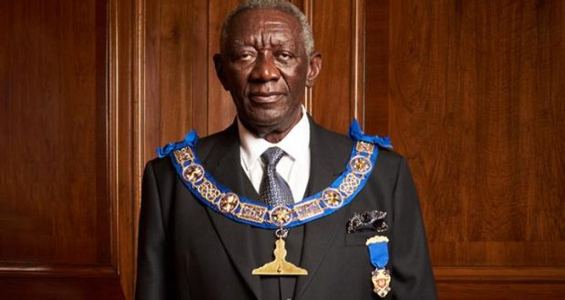 Kufuor gets top appointment in Freemason Lodge UK