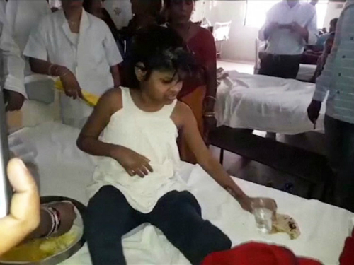 Girl Found Living With Monkeys In A Jungle In India (Video)