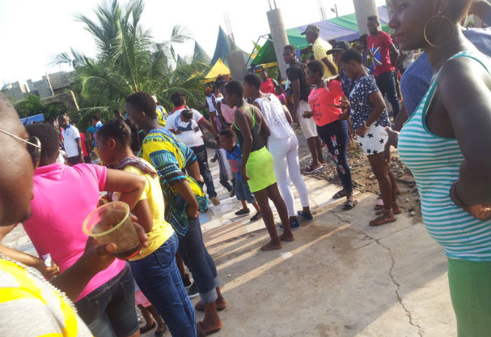 Downtown Easter Bash Shakes Ashaiman