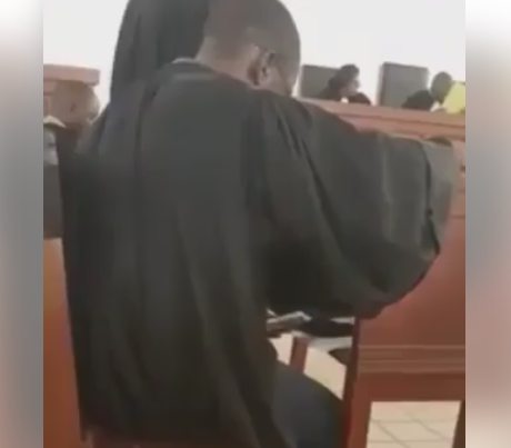 Video: Lawyer caught watching  porn during court proceedings