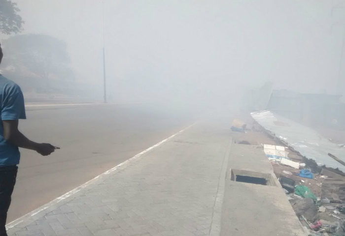Massive Air Pollution Affects Students of Ashaiman PRESBY School (Photos)