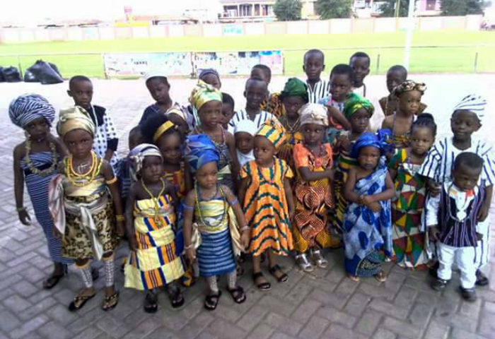 Ashaiman Schools Mark AU Day