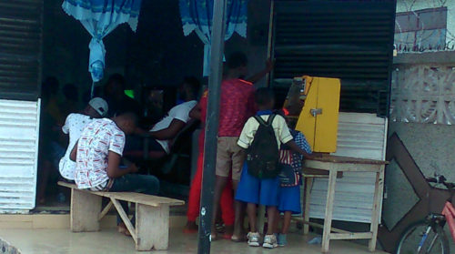 Gaming, A Catalyst To Child Truancy in Ashaiman (Photos)
