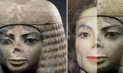 WATCH: Michael Jackson's Face 'Found' In Ancient Statue