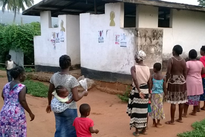 NDC, NPP fight over Makola public toilets