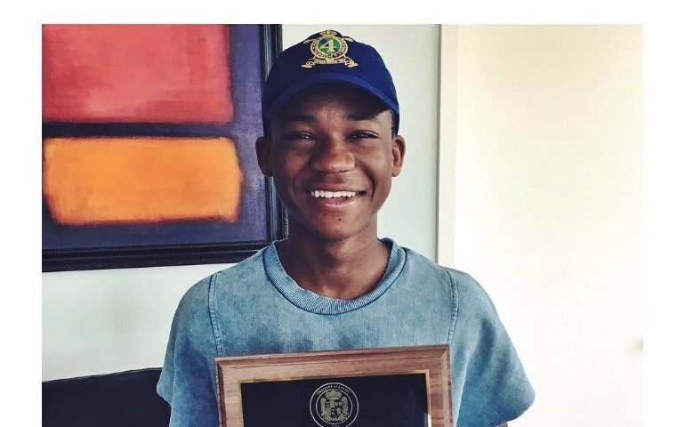 Proudly Ashaiman: Abraham Attah gains scholastic improvement award