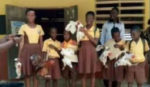 Only in Ghana: Best students receive fowls as prizes
