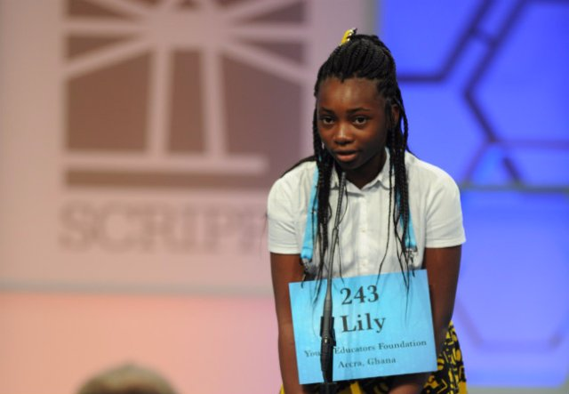 Ashaiman's Solidarity Int School kid contests Scripps Spelling Bee in USA