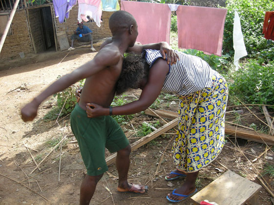 Man sacks wife for 'moaning' during rape by armed robbers