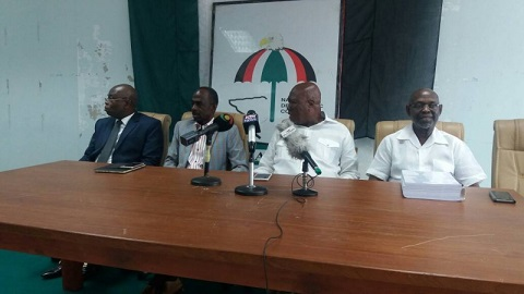 Prof. Kwesi Botchwey Committee presents 455-page report to NDC