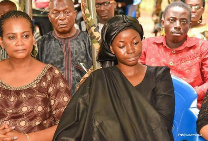 Slain Major Mahama's Wife 3 months pregnant
