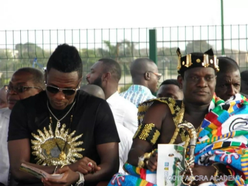 Asamoah Gyan Commissions Mega Sports Complex For Alma Mater Accra Academy (Video)