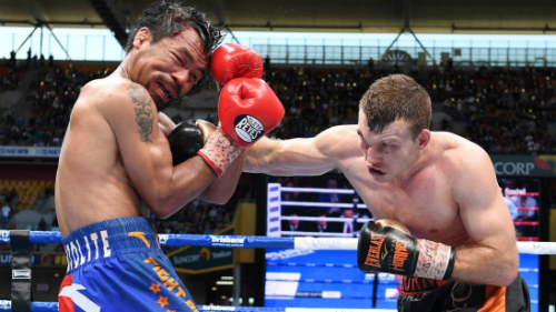 WATCH: Manny Pacquiao Beaten By Jeff Horn In One Of Boxing's Greatest Upsets