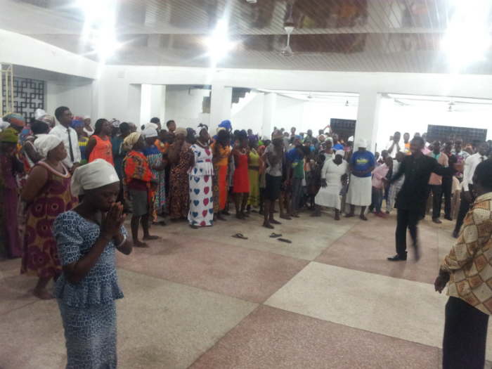 Ashaiman: The Night Of Healing With Jesus At The Naos - ashaimanonline.com