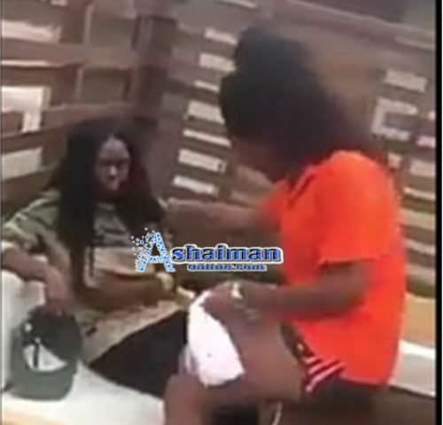 WATCH:  Lesbian Slaps Partner For Cheating