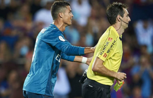 Cristiano Ronaldo Hit With Five-Game Ban