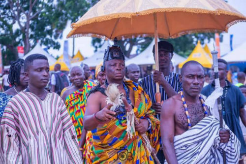 23 Amazing Photos Of The 2017 Asafotufiami Festival That Depict The Rich Ada Culture