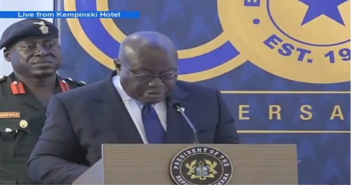 Akufo-Addo lauds BoG's response to 'weak' UT, Capital banks