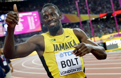 Usain Bolt blames Neymar for losing his final 100m race
