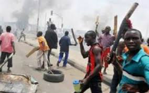 Gunshots In Tamale As Police Clash With NDC Youth