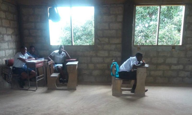 Free SHS: Empty classrooms welcome students at La Presec