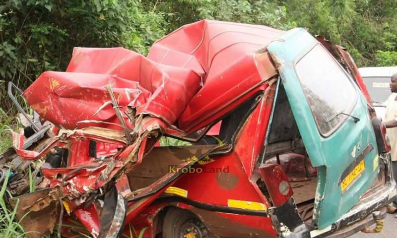 Accident: Five mourners dead, 7 others injured in Odumase car crash