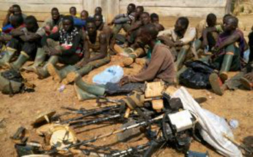 311 Galamsey Operators Arrested Nationwide (Photos)